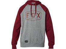 Fox Crest Pullover Fleece heather graphite