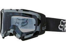 Fox Airspace Stray Goggle inkl. WS, black/Lens: dark gray lex - MX Brille