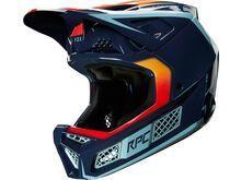 Fox Rampage Pro Carbon Helmet Daiz, navy - Fahrradhelm