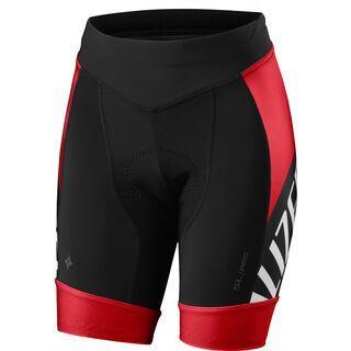 Specialized Women's SL Pro Short, red/black team - Radhose