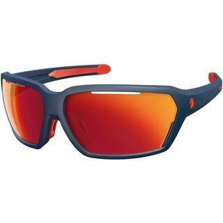Scott Vector Sunglasses, dark blue matt/red/Lens: red chrome - Sportbrille