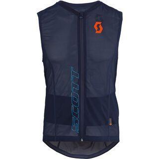 Scott Actifit Light Vest, black iris orange - Protektorenweste