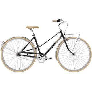 Creme Cycles Caferacer Lady Solo 2020, black sparkle - Cityrad