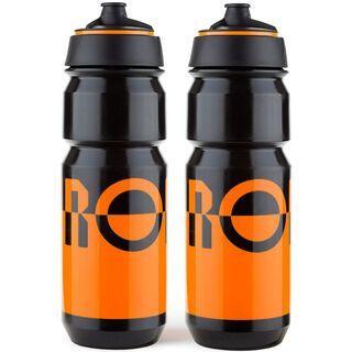 Rondo Bidon 2 x 750 ml Set, orange/black - Trinkflasche
