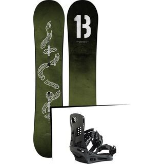Set: Burton Descendant Wide 2019 + Burton Genesis X black matte
