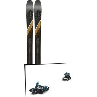 Set: K2 SKI Wayback 96 2019 + Marker Alpinist 9 black/turquoise