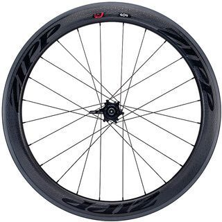 Zipp 404 Firecrest Tubular, black decor - Hinterrad