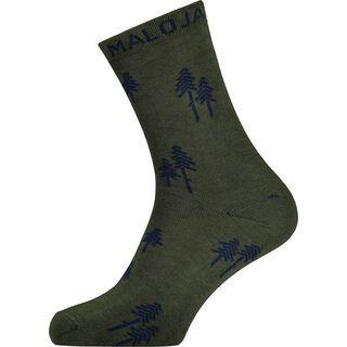 Maloja GankarM., dark cypress - Socken