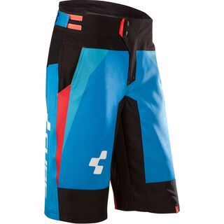 Cube Action Team Shorts, blue´n´white´n´black - Radhose