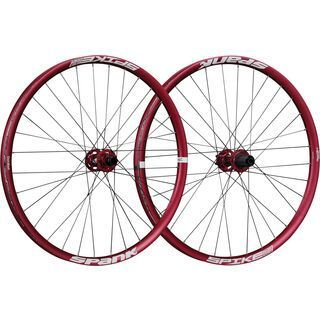 Spank Spike Race 33 Wheelset 27.5, red - Laufradsatz