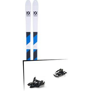 Set: Völkl VTA 80 + Skin 2018 + Marker Alpinist 12 Long Travel black/titanium