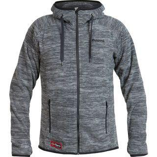 Bergans Hareid Jacket, dark grey melange - Fleecejacke