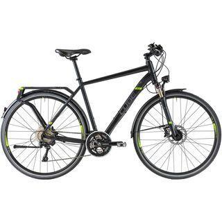 Cube Delhi Pro 2014, black/grey/green - Trekkingrad