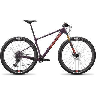 Santa Cruz Highball CC XX1 Reserve 2018, eggplant - Mountainbike