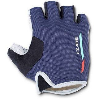 Cube Handschuhe WS Teamline Kurzfinger blue