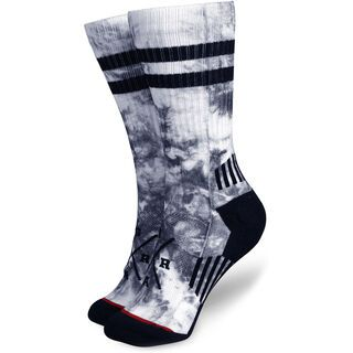 Loose Riders Technical Socks Crystal white/blue