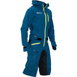 dirtlej DirtSuit Classic Edition bluegreen/yellow