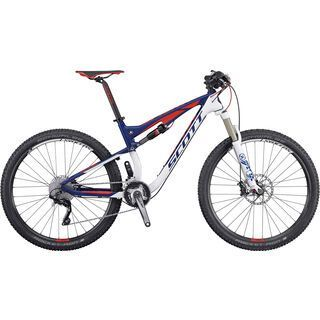 Scott Spark 930 2016, white/blue/red - Mountainbike
