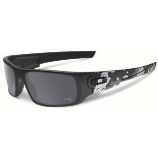Oakley Crankshaft Infinite Hero, matte carbon camo/Lens: black iridium - Sonnenbrille