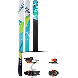 Set: Armada Trace 108 2018 + Salomon Warden MNC 13 white/black/orange