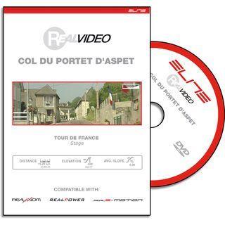 Elite DVD für RealAxiom und RealPower - Col Du Portet D'Aspet - DVD