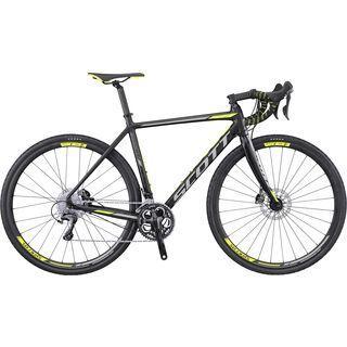 Scott Speedster CX 10 Disc 2017, black/grey/yellow - Crossrad