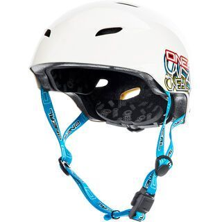 ONeal Dirt Lid Youth Helmet Junkie, white - Fahrradhelm