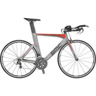 BMC Timemachine TM02 Ultegra 2016, grey/red - Triathlonrad