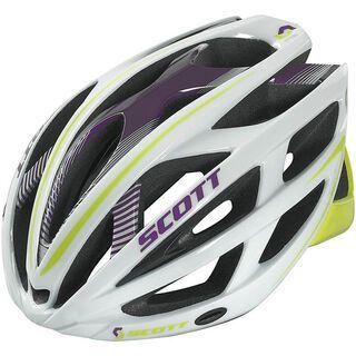 Scott Wit-R Contessa, white matt/green - Fahrradhelm