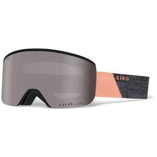 Giro Ella inkl. WS, grey/peach peak/Lens: vivid onyx - Skibrille