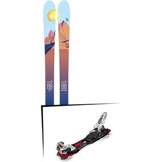 Set: Icelantic Oracle 88 2018 + Marker Baron EPF 13 black/white/red