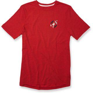 Specialized Drirelease 74 T-Shirt, red heather/cream - Radtrikot