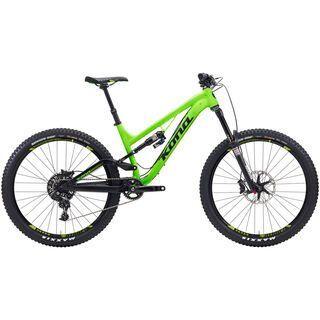 Kona Process 153 DL 2015, matt green/black - Mountainbike