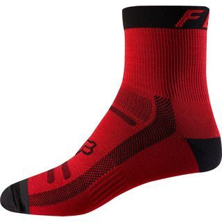 Fox 6 Trail Sock, bright red - Radsocken