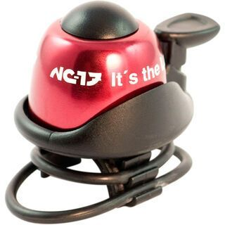 NC-17 Safety Bell, red - Fahrradklingel