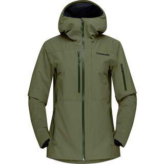 Norrona lofoten Gore-Tex Insulated Jacket W's olive night