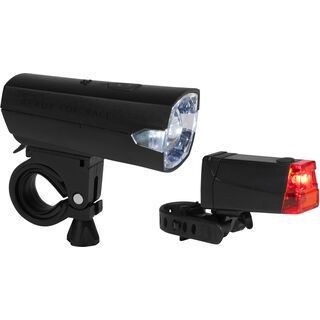 Cube RFR LED Beleuchtungsset Tour 12, matt black - Beleuchtung