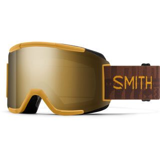 Smith Squad inkl. WS, amber textile/Lens: cp sun black gold mir - Skibrille