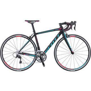 Scott Contessa Speedster 15 2016, black/pink/turquoise - Rennrad