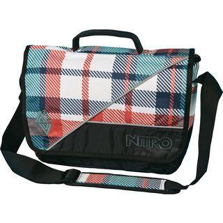 Nitro Evidence Bag, meltwater plaid - Messenger Bag