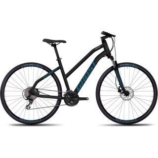 Ghost Square Cross 3 Miss 2016, black/blue - Fitnessbike
