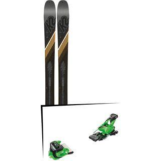 Set: K2 SKI Wayback 96 2019 + Tyrolia Attack² 13 GW green
