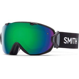Smith I/Os + Spare Lens, black/green sol-x mirror - Skibrille