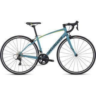 Specialized Dolce Sport 2017, turquoise/hy green/black - Rennrad