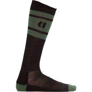 Armada Scrum Merino Sock, black - Socken