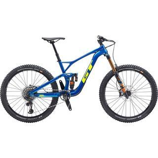 GT Force Carbon Pro 2020, blue/yellow - Mountainbike