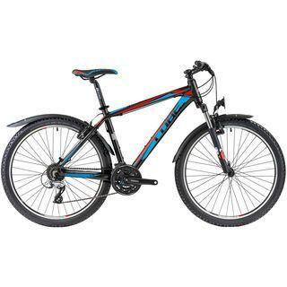 Cube Aim Street 2014, black/neonred/blue - Mountainbike