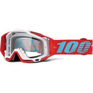 100% Racecraft, kepler/Lens: clear - MX Brille