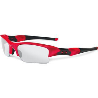 Oakley Flak Jacket XLJ, infrared/clear black iridium transitions - Sportbrille