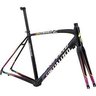 Specialized Allez E5 Frameset 2014, Black/Multi - Fahrradrahmen